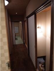 旅館 間 廊下